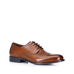 Buty męskie, brązowy, 88-M-929-5-43, Zdjęcie 1