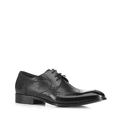 Men's shoes, black, 88-M-930-1-45, Photo 1
