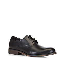 Men's shoes, black, 88-M-932-1-44, Photo 1