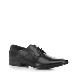Men's shoes, black, 88-M-935-1-45, Photo 1