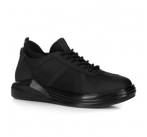 Męskie sneakersy ze skarpetą, czarny, 88-M-937-1-42, Zdjęcie 1