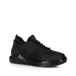 Men's trainers, black, 88-M-937-1-42, Photo 1