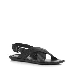 Buty męskie, czarny, 88-M-941-1-45, Zdjęcie 1