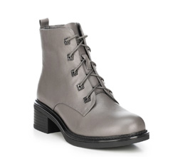 Women's ankle boots, grey, 89-D-956-8-36, Photo 1