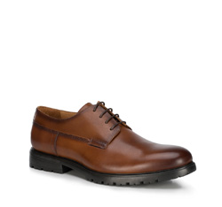 Men's shoes, brown, 89-M-500-5-40, Photo 1