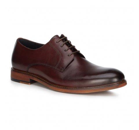 Buty męskie, bordowy, 89-M-501-2-39, Zdjęcie 1
