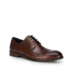 Buty męskie, Brązowy, 89-M-503-4-44, Zdjęcie 1