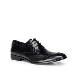 Men's shoes, black, 89-M-505-1-42, Photo 1