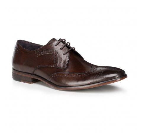 Buty męskie, Brązowy, 89-M-505-4-39, Zdjęcie 1