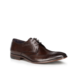 Buty męskie, Brązowy, 89-M-505-4-41, Zdjęcie 1