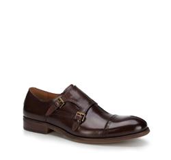 Buty męskie, brązowy, 89-M-506-4-39, Zdjęcie 1