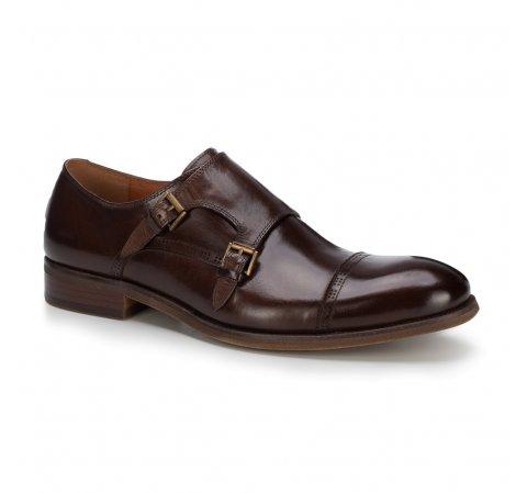 Buty męskie, Brązowy, 89-M-506-1-39, Zdjęcie 1