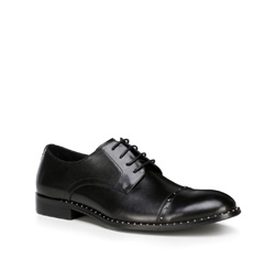 Men's shoes, black, 89-M-507-1-45, Photo 1