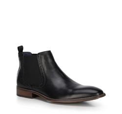 Men's shoes, black, 89-M-510-1-44, Photo 1