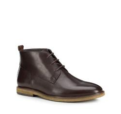Men's shoes, brown, 89-M-513-4-41, Photo 1