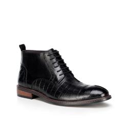 Buty męskie, czarny, 89-M-515-1-45, Zdjęcie 1