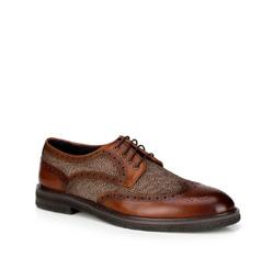 Buty męskie, brązowy, 89-M-516-5-39, Zdjęcie 1