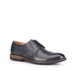 Men's shoes, navy blue, 89-M-900-7-39, Photo 1