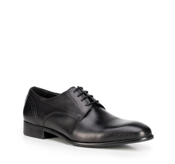 Men's shoes, black, 89-M-901-1-44, Photo 1