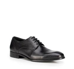 Buty męskie, czarny, 89-M-901-1-45, Zdjęcie 1