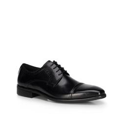 Buty męskie, czarny, 89-M-903-1-45, Zdjęcie 1