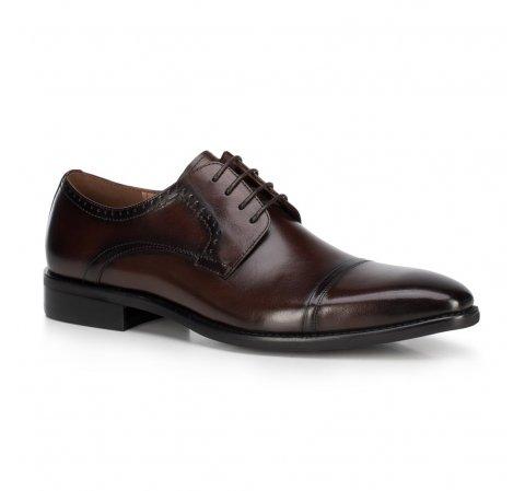 Buty męskie, Brązowy, 89-M-903-1-39, Zdjęcie 1