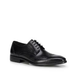 Buty męskie, czarny, 89-M-904-1-45, Zdjęcie 1