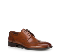Buty męskie, Brązowy, 89-M-905-4-44, Zdjęcie 1