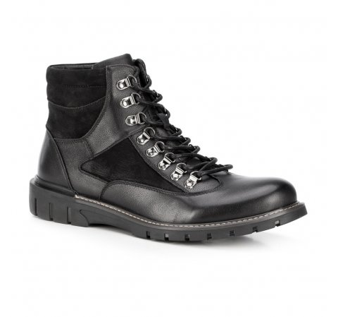 Buty męskie, czarny, 89-M-911-1-41, Zdjęcie 1