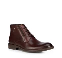 Men's shoes, burgundy, 89-M-912-2-44, Photo 1