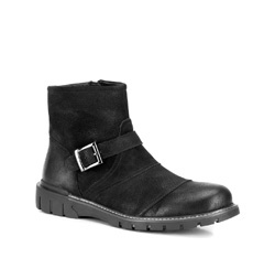 Buty męskie, czarny, 89-M-913-1-39, Zdjęcie 1
