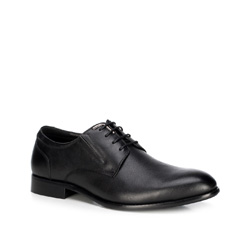Men's shoes, black, 89-M-915-1-44, Photo 1