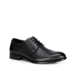 Buty męskie, czarny, 89-M-915-1-44, Zdjęcie 1