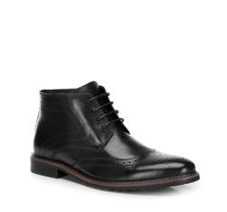 Buty męskie, czarny, 89-M-920-1-45, Zdjęcie 1