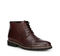 Buty męskie, bordowy, 89-M-921-2-45, Zdjęcie 1