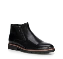 Men's shoes, black, 89-M-922-1-44, Photo 1