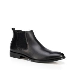 Buty męskie, czarny, 89-M-923-1-45, Zdjęcie 1