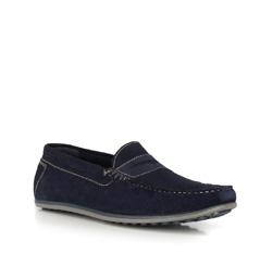 Men's shoes, navy blue, 90-M-300-7-42, Photo 1