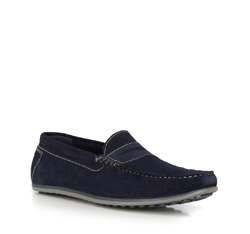 Men's shoes, navy blue, 90-M-300-7-45, Photo 1