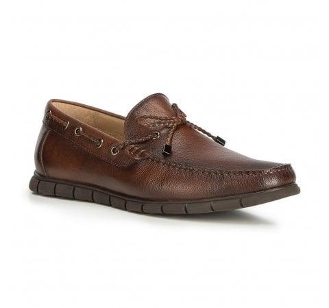 Men's shoes, dark brown, 90-M-503-4-40, Photo 1