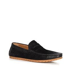 Men's shoes, black, 90-M-504-1-44, Photo 1