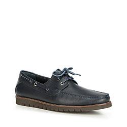 Men's shoes, navy blue, 90-M-505-7-42, Photo 1