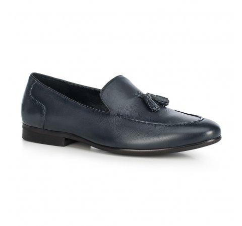 Men's shoes, navy blue, 90-M-506-4-44, Photo 1