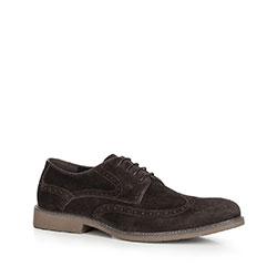 Buty męskie, Brązowy, 90-M-508-4-44, Zdjęcie 1