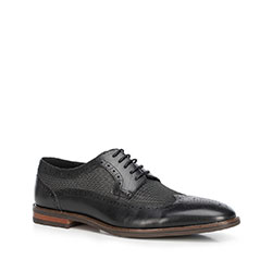 Men's shoes, black, 90-M-509-1-45, Photo 1