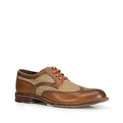 Men's shoes, brown, 90-M-510-5-39, Photo 1
