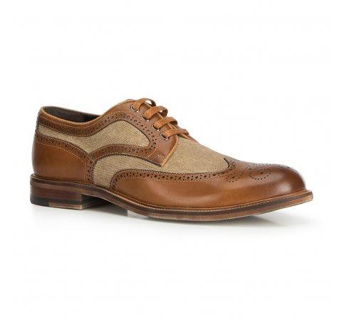 Buty męskie, Brązowy, 90-M-510-1-44, Zdjęcie 1