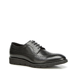 Men's shoes, black, 90-M-511-1-39, Photo 1