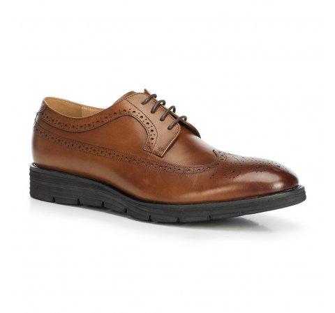 Buty męskie, Brązowy, 90-M-511-1-43, Zdjęcie 1