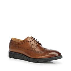 Men's shoes, brown, 90-M-511-5-41, Photo 1